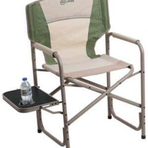 Bass Pro Shops Eclipse Director Chair with Side Table - Bronze Green