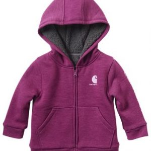Carhartt Hooded Sherpa Fleece-Lined Jacket for Toddlers or Kids