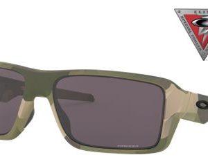 Oakley Double Edge 009380 Sunglasses - Multicam/Prizm Gray - Standard