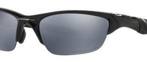 Oakley Half Jacket 2.0 OO9144 Polarized Sunglasses - Polished Black/Black Iridium - Standard