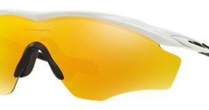 Oakley M2 Frame XL OO9343 Sunglasses - Polished White/Fire Iridum