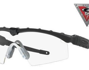 Oakley SI Ballistic M Frame 2.0 009047 Strike Sunglasses - Black/Clear - Large