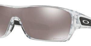 Oakley Turbine Rotor OO9307 Polarized Sunglasses - Polished Clear/Prizm Black Iridium Mirror - Standard