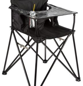ciao! baby Portable High Chair - Black
