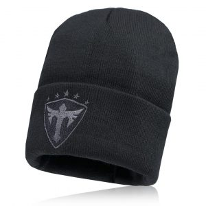 Alpha Defense Gear AD Beanie / All Black / Polyester/Cotton