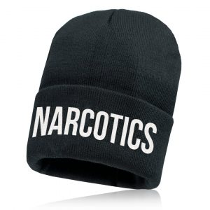 Alpha Defense Gear Alpha Beanie / Black / Narcotics / Polyester/Cotton