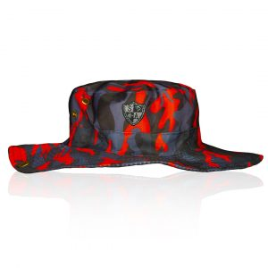 Alpha Defense Gear Alpha Boonie Hat / Fire Blackout Military Camo