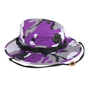 Alpha Defense Gear Alpha Boonie Hat / Violet & Grey Camo