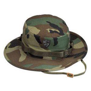 Alpha Defense Gear Alpha Boonie Hat / Woodland Camo