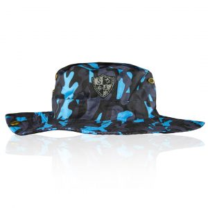 Alpha Defense Gear Alpha Defense Gear Bucket Hat / Aqua Blackout Military Camo