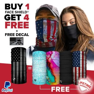 Alpha Defense Gear BUY 1 FACE SHIELD®, GET 4 FREE! - DA-5PACK-FB-DOM190