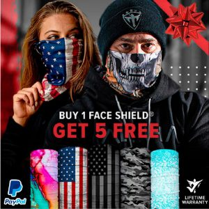 Alpha Defense Gear BUY 1 FACE SHIELD®, GET 5 FREE! - DA-5PACK-FB-DOM330-3