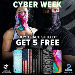 Alpha Defense Gear BUY 1 FACE SHIELD®, GET 5 FREE! - DA-5PACK-FIT5