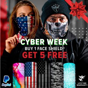 Alpha Defense Gear BUY 1 FACE SHIELD®, GET 5 FREE! - DA-5PACK-SC-DOM215