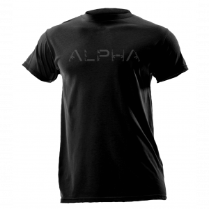 Alpha Defense Gear Firepower Short Sleeve T-Shirt / Black / Size L / Cotton