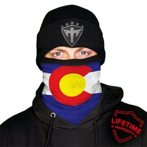 Alpha Defense Gear Frost Tech™ / Colorado Fleece Face Shield® / Multi-Use Tubular Bandana