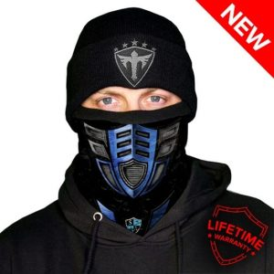 Alpha Defense Gear Frost Tech™ / Ice 2.0 Fleece Face Shield / Multi-Use Tubular Bandana