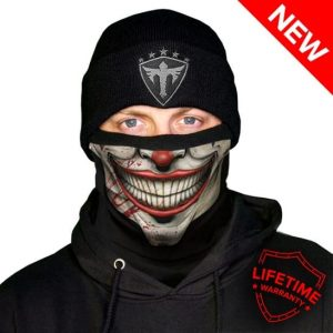 Alpha Defense Gear Frost Tech™ / Mr. Jokester Fleece Face Shield / Multi-Use Tubular Bandana