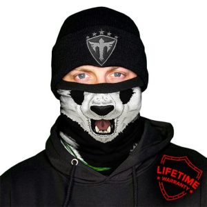 Alpha Defense Gear Frost Tech™ / Panda Fleece Face Shield® / Multi-Use Tubular Bandana