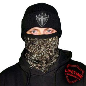 Alpha Defense Gear Frost Tech™ / StealthTech™ Camo / Dregs Fleece Face Shield™ / Multi-Use Tubular Bandana