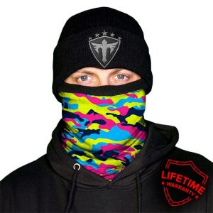 Alpha Defense Gear Frost Tech / Electric Fleece Face Shield® / Multi-Use Tubular Bandana