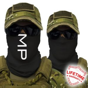 Alpha Defense Gear MP Face Shield™ / Two-Sided / Multi-Use Tubular Bandana / Polyester
