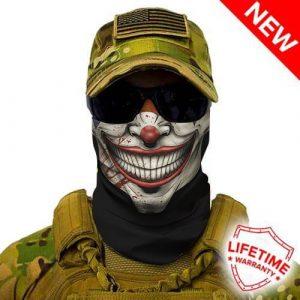 Alpha Defense Gear Mr. Jokester Face Shield™ / Multi-Use Tubular Bandana