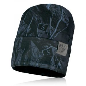 Alpha Defense Gear Performance Beanie / Blackout Forest Camo / Polyester/Cotton