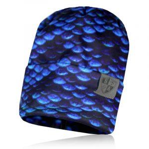 Alpha Defense Gear Performance Beanie / Mermaid Scales / Polyester/Cotton / Blue