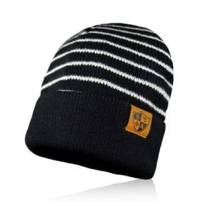 Alpha Defense Gear SA BEANIE / STRIPES / BLACK & WHITE / Polyester/Cotton