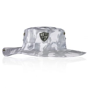 Alpha Defense Gear SA Bucket Hat / Ghost Military Camo / White