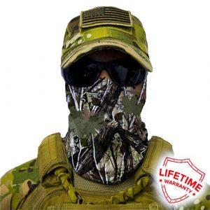 Alpha Defense Gear SA Forest Camo Face Shield™ / Dregs / Multi-Use Tubular Bandana / Polyester