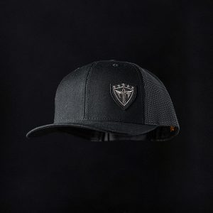 Alpha Defense Gear Snap Back Hat / All Black