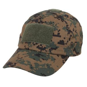 Alpha Defense Gear Tactical Operator Cap / Woodland Digital Camo