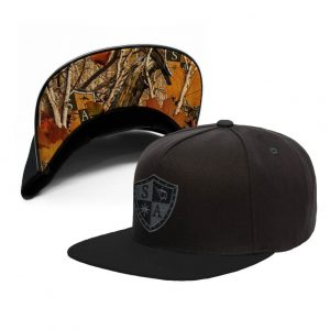 Alpha Defense Gear UNDER BRIM FLAT SNAP BACK HAT / SA FOREST CAMO