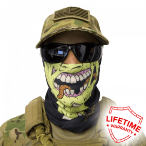 Alpha Defense Gear Zombie Face Shield / Multi-Use Tubular Bandana / Polyester