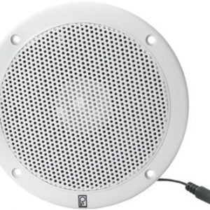Poly-Planar MA1000 Round VHF Flush-Mount Extension Speaker - White