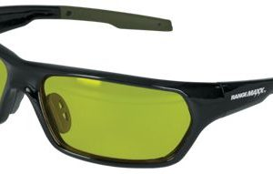RangeMaxx Performance Full Frame Wraparound Shooting Glasses - Amber