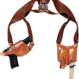 Triple K Three-Piece Shoulder Holster Set