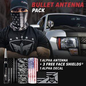 Alpha Defense Gear Bullet Antenna Pack - DA-P88192-SM