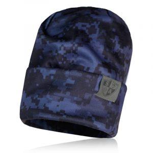 Alpha Defense Gear Performance Beanie / Blackout Digi / Polyester/Cotton