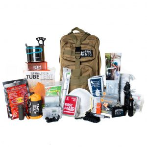 LifeShieldA(R) All-In-One Bug Out Bag w/ 6 Survival Kits by Frog & CO