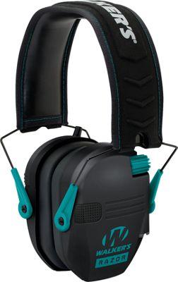 Walker's Razor Series Slim Shooter Electronic Ear Muffs - Teal