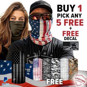 Alpha Defense Gear BUY 1 FACE SHIELD®, GET 5 FREE! - DA-5PACK-FB-DOM330-5