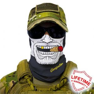 Alpha Defense Gear Gangster Face Shield™ / Multi-Use Tubular Bandana / Polyester