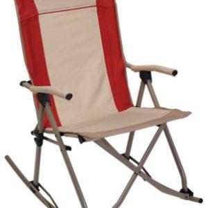 Bass Pro Shops Eclipse Folding Rocking Chair - Bossa Nova Red