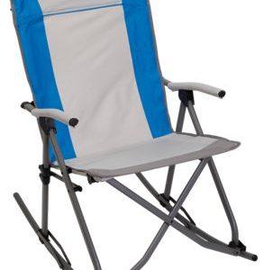 Bass Pro Shops Eclipse Folding Rocking Chair - Cloisonne Blue