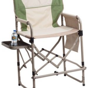 Bass Pro Shops Eclipse Magnum Director Chair with Side Table - Bronze Green