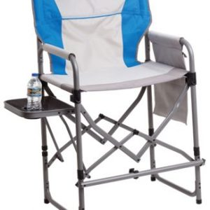 Bass Pro Shops Eclipse Magnum Director Chair with Side Table - Cloisonne Blue