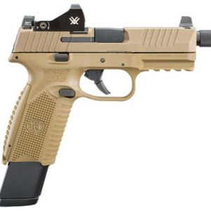 FN 509 Tactical Semi-Auto Pistol in FDE with Vortex Viper Micro Red Dot Sight Package